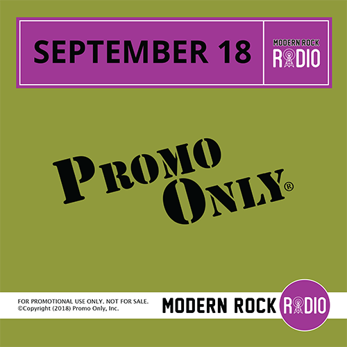 Modern Rock Audio September, 2018 Album Cover