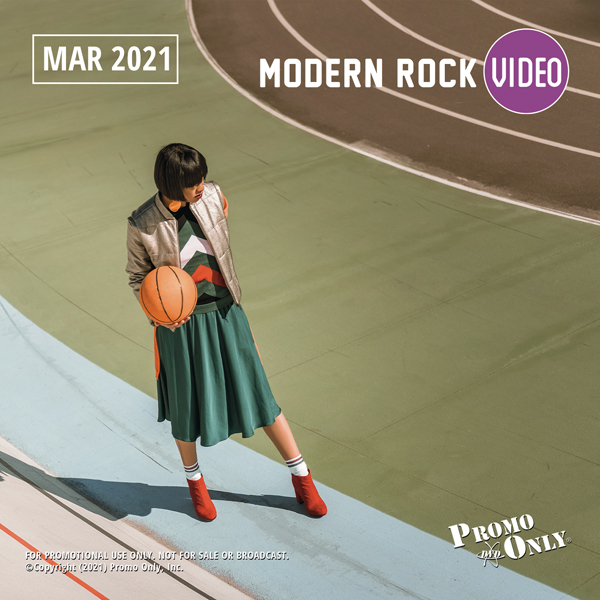 Modern Rock Video March, 2021 Album Cover